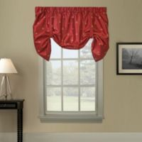 Duchess Swag Tie Up Valance in Red