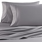 Brookstone® BioSense™ 500 Thread Count Queen Deep Pocket Sheet Set in Silver