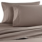 Brookstone® BioSense™ 500 Thread Count Queen Deep Pocket Sheet Set in Taupe