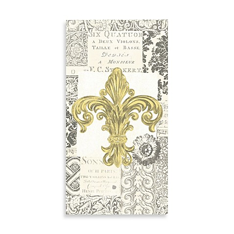Bed Bath And Beyond Fleur De Lis Towels