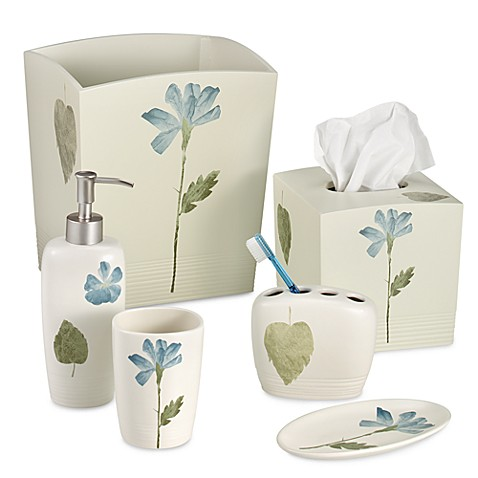 Croscill Spa Leaf Bath Ensemble Bed Bath Beyond