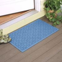 Weather Guard™ Ellipse 2-Foot x 3-Foot Door Mat in Medium Blue