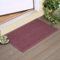 Weather Guard™ Diamonds 23-Inch x 35-Inch Door Mat in Bordeaux