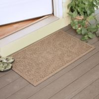 Weather Guard™ Boxwood 23-Inch x 35-Inch Door Mat in Camel
