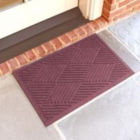 Weather Guard™ Diamonds 18-Inch x 28-Inch Door Mat in Bordeaux