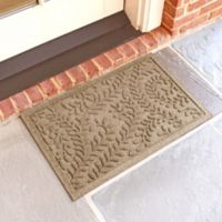Weather Guard™ Boxwood 18-Inch x 28-Inch Door Mat in Camel