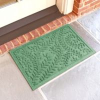 Weather Guard™ Boxwood18-Inch x 28-Inch Door Mat in Light Green