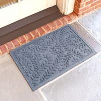 Weather Guard™ Boxwood18-Inch x 28-Inch Door Mat in Bluestone
