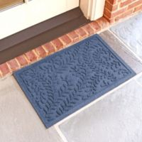 Weather Guard™ Boxwood 18-Inch x 28-Inch Door Mat in Navy