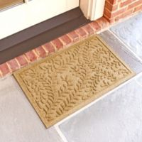 Weather Guard™ Boxwood 18-Inch x 28-Inch Door Mat in Gold