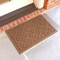 Weather Guard™ Ellipse 18-Inch x 28-Inch Door Mat in Dark Brown