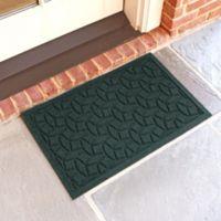 Weather Guard™ Ellipse 18-Inch x 28-Inch Door Mat in Evergreen