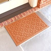 Weather Guard™ Ellipse 18-Inch x 28-Inch Door Mat in Orange