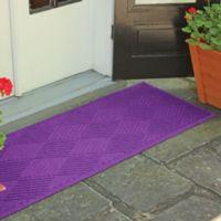 Weather Guard™ Diamonds 22-Inch x 60-Inch Door Mat in Purple