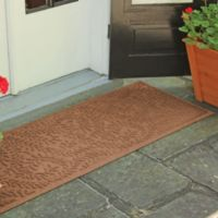 Weather Guard™ Boxwood 22-Inch x 60-Inch Door Mat in Dark Brown