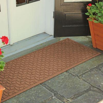 Lovely Weather Guard™ Ellipse 22 Inch X 60 Inch Door Mat In Dark Brown