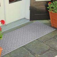 Weather Guard™ Ellipse 22-Inch x 60-Inch Door Mat in Medium Grey