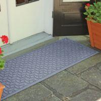 Weather Guard™ Ellipse 22-Inch x 60-Inch Door Mat in Bluestone
