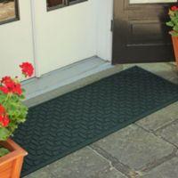 Weather Guard™ Ellipse 22-Inch x 60-Inch Door Mat in Evergreen