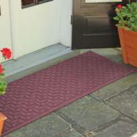 Weather Guard™ Ellipse 22-Inch x 60-Inch Door Mat in Bordeaux