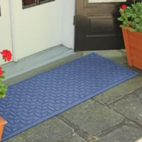 Weather Guard™ Ellipse 22-Inch x 60-Inch Door Mat in Navy