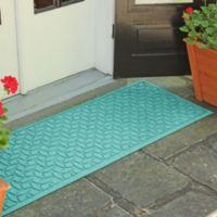 Weather Guard™ Ellipse 22-Inch x 60-Inch Door Mat in Aquamarine