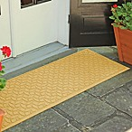 Weather Guard™  Ellipse 22-Inch x 60-Inch Door Mat in Yellow