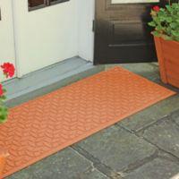 Weather Guard™ Ellipse 22-Inch x 60-Inch Door Mat in Orange