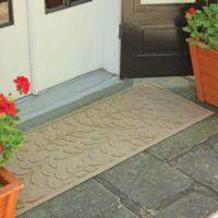 Weather Guard™ Brittney Leaf 22-Inch x 60-Inch Door Mat in Camel