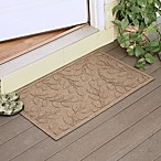 Weather Guard™  Brittney Leaf 23-Inch x 35-Inch Door Mat in Camel