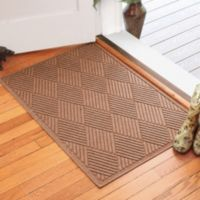 Weather Guard™ Diamonds 30-Inch x 45-Inch Door Mat in Medium Brown
