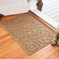 Weather Guard™ Boxwood 30-Inch x 45-Inch Door Mat in Camel