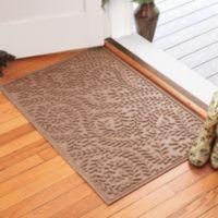 Weather Guard™ Boxwood 30-Inch x 45-Inch Door Mat in Medium Brown