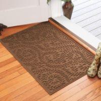 Weather Guard™ Boxwood 30-Inch x 45-Inch Door Mat in Dark Brown