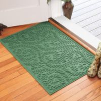 Weather Guard™ Boxwood30-Inch x 45-Inch Door Mat in Light Green
