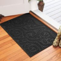 Weather Guard™ Boxwood 30-Inch x 45-Inch Door Mat in Charcoal