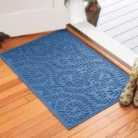 Weather Guard™ Boxwood 30-Inch x 45-Inch Door Mat in Medium Blue