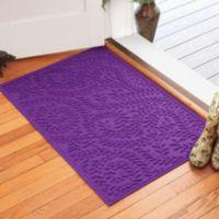 Weather Guard™ Boxwood 30-Inch x 45-Inch Door Mat in Purple