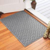 Weather Guard™ Ellipse 30-Inch x 45-Inch Door Mat in Medium Grey
