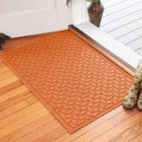 Weather Guard™ Ellipse 30-Inch x 45-Inch Door Mat in Orange