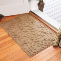 Weather Guard™ Brittney Leaf 30-Inch x 45-Inch Door Mat in Camel