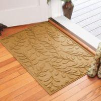 Weather Guard™ Brittney Leaf 30-Inch x 45-Inch Door Mat in Gold