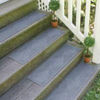 Weather Guard™ Diamonds 22-inch x60-inch Stair Treads in Bluestone (Set of 2)