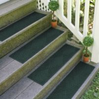 Weather Guard™ Diamonds 8.5-Inch x 30-Inch Stair Treads in Evergreen (Set of 2)