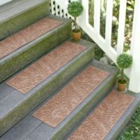 Weather Guard™ Boxwood 8.5-Inch x 30-Inch Stair Treads in Medium Brown (Set of 2)