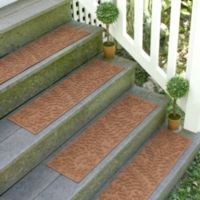 Weather Guard™ Boxwood 8.5-Inch x 30-Inch Stair Treads in Dark Brown (Set of 2)