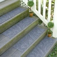 Weather Guard™ Boxwood8.5-Inch x 30-Inch Stair Treads in Bluestone (Set of 2)