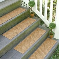 Weather Guard™ Boxwood 8.5-Inch x 30-Inch Stair Treads in Gold (Set of 2)