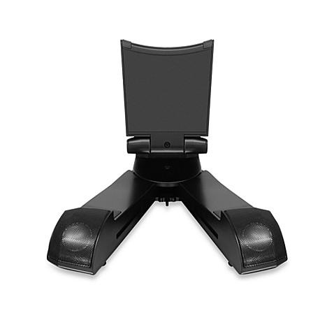 buy aluratek bluetooth speaker tablet stand from bed bath beyond. Black Bedroom Furniture Sets. Home Design Ideas