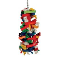Paradise Toys Knots n Blocks Bird Activity Center